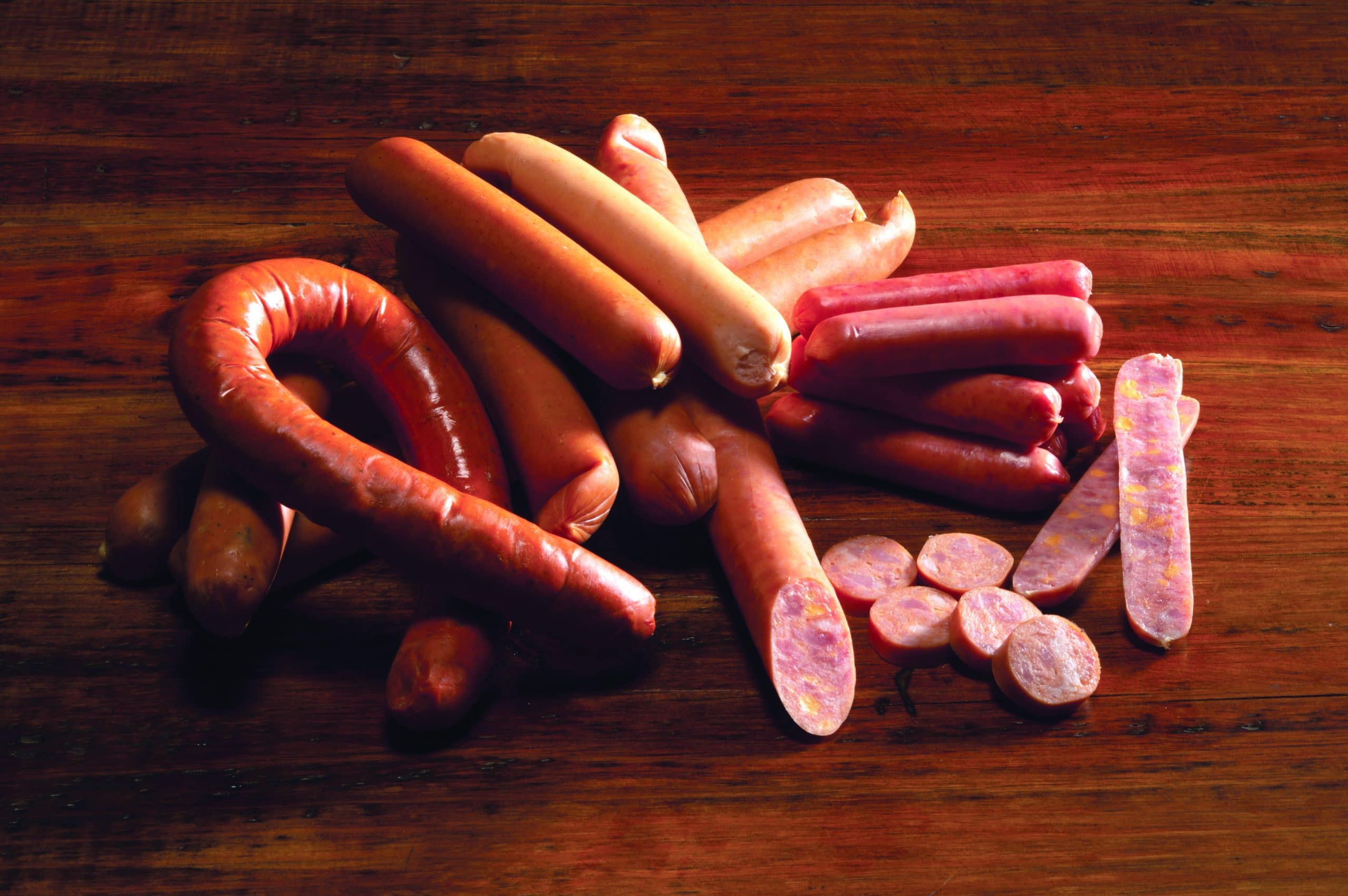 Wholesale footlong sausages